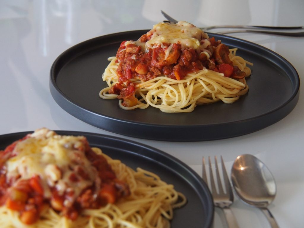 Cooking Blog - Healthy Spaghetti Bolognaise
