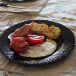 Cooking Blog - Mushroom Cornbread Breakfast