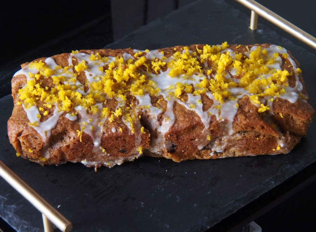 Cooking Blog - Banana and Cranberry Loaf