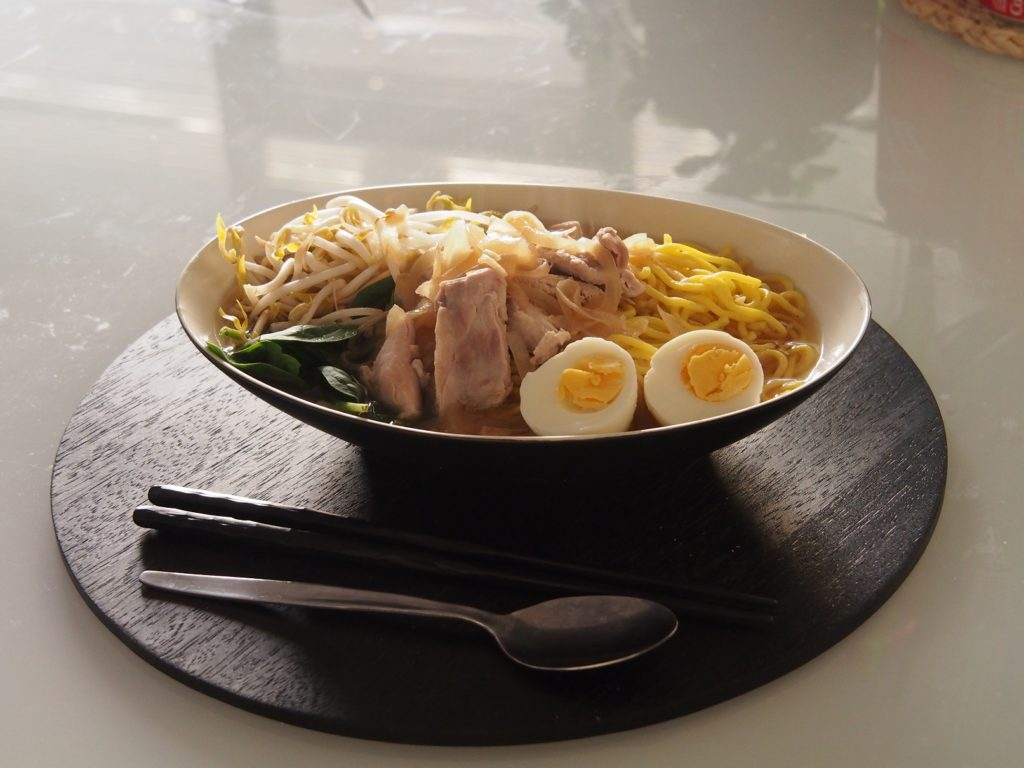 Cooking Blog - Asian Chicken Noodle Soup