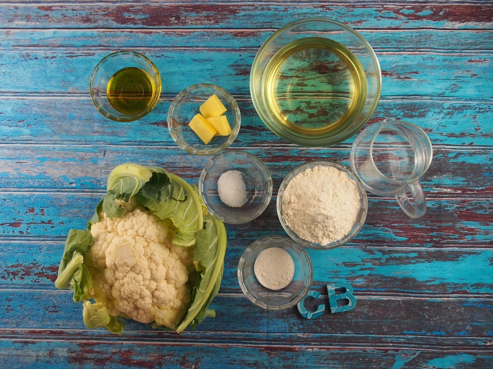 Cooking Blog - Cauliflower Fritters 1