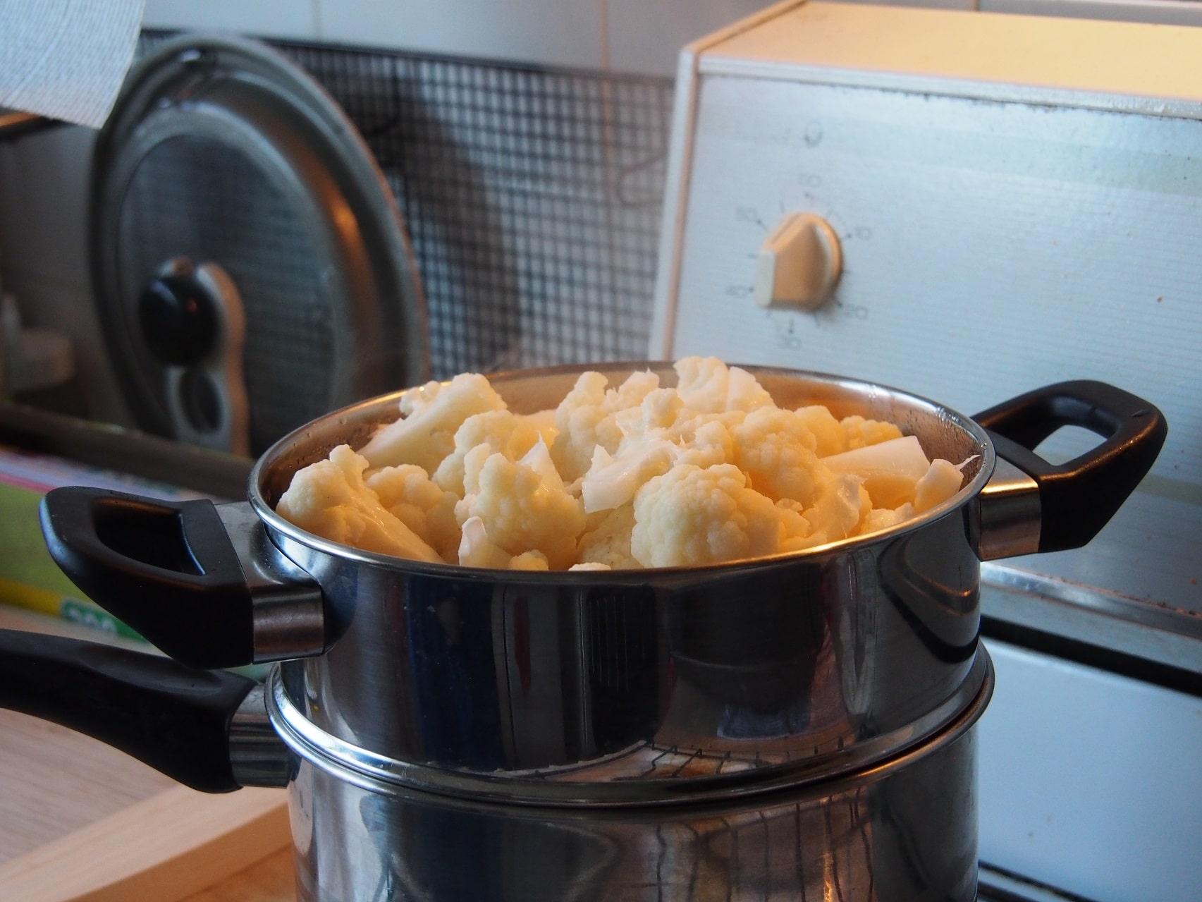 Cooking Blog - Cauliflower Fritters 3