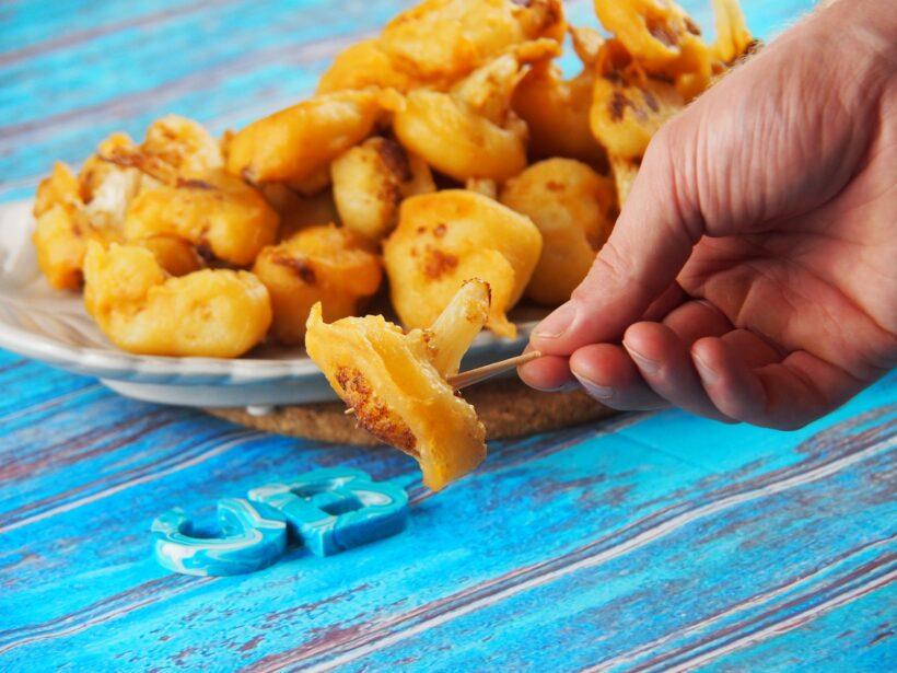 Cooking Blog - Cauliflower Fritters 7