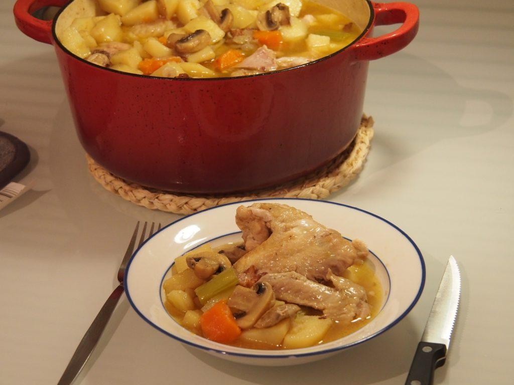 Cooking Blog - Whole Chicken Casserole