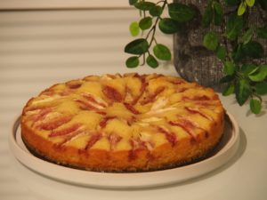 Cooking Blog - Almond Fig Cake