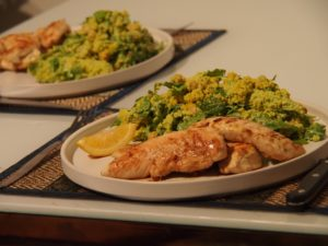Cooking Blog - Chicken Strips with Tangy Couscous Salad