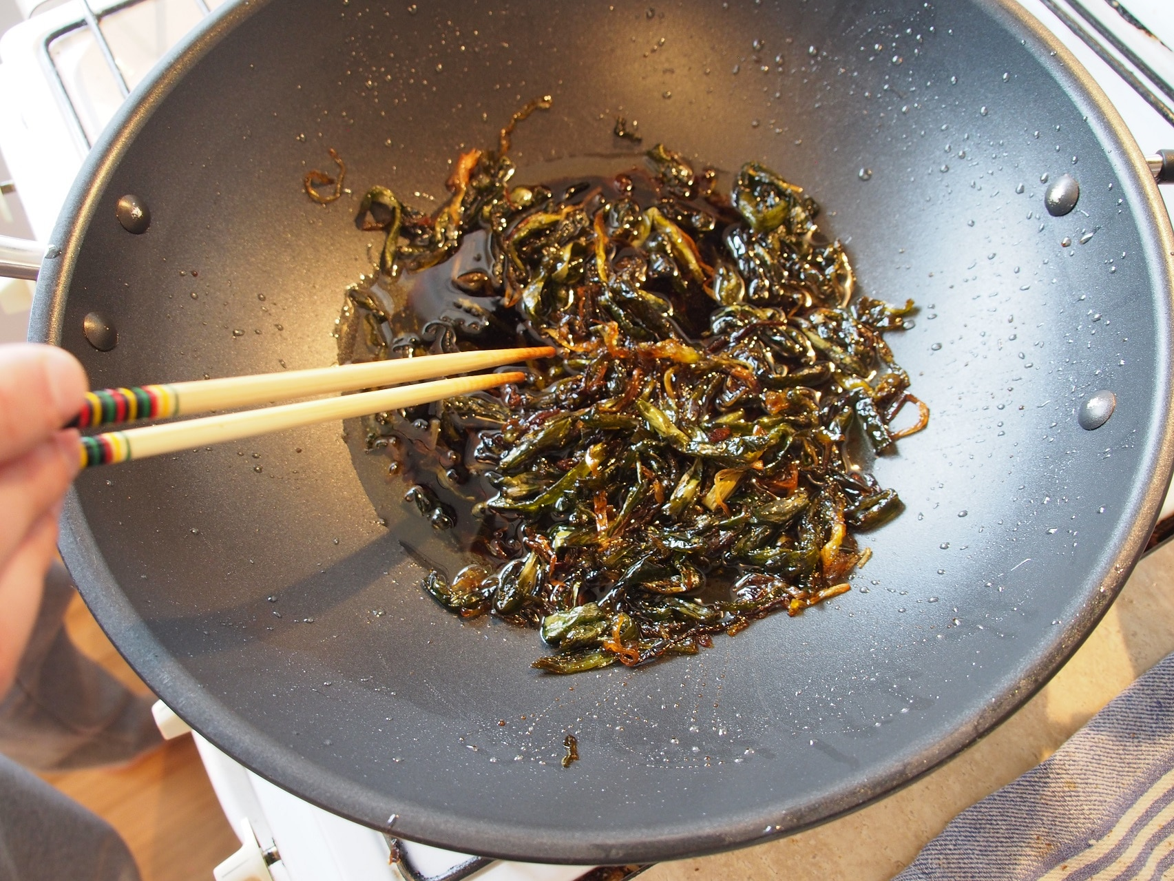 Cooking Blog - Spring Onion Oil Noodles 10