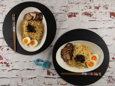Cooking Blog - Spring Onion Oil Noodles 1