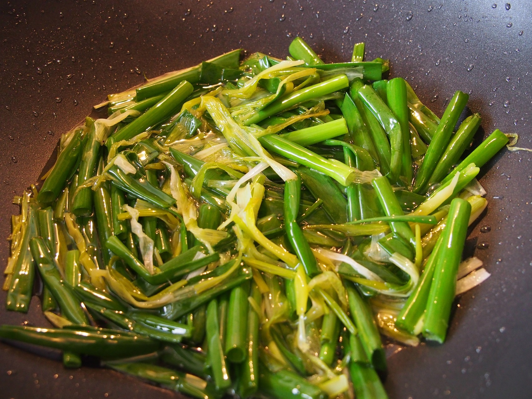 Cooking Blog - Spring Onion Oil Noodles 8