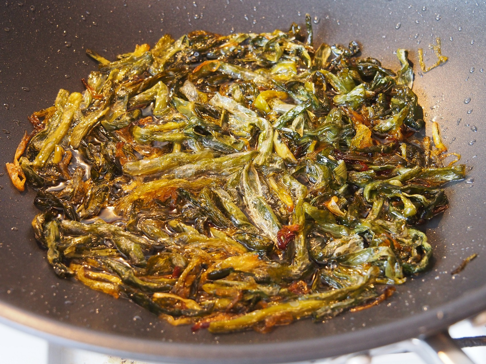 Cooking Blog - Spring Onion Oil Noodles 9