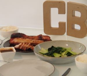 Cooking Blog - Chashu Pork with Bok Choy and Rice