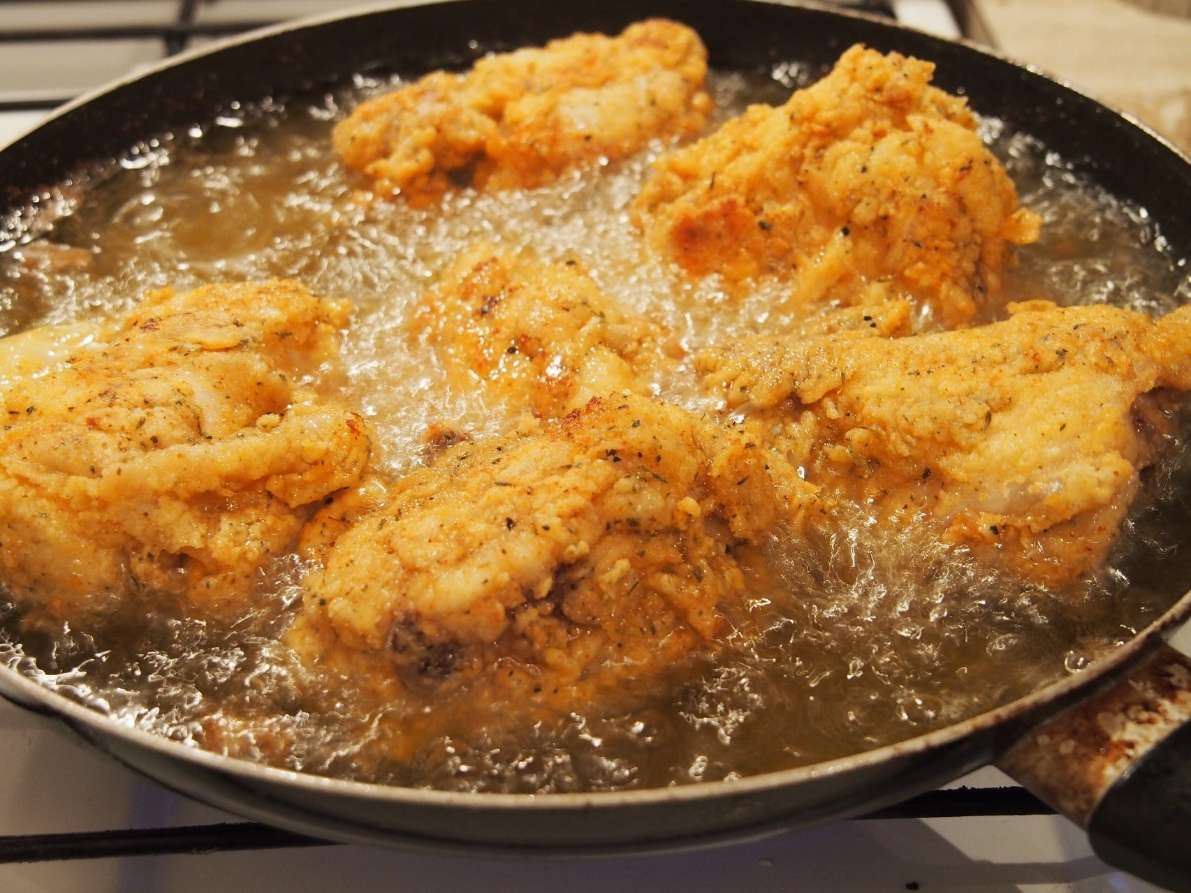 Cooking Blog - Southern Style Whole Fried Chicken 5