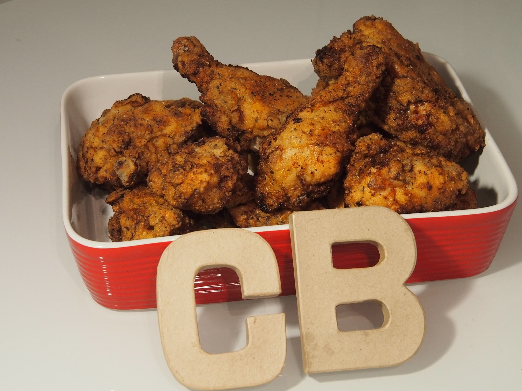 Cooking Blog - Southern Style Whole Fried Chicken 7