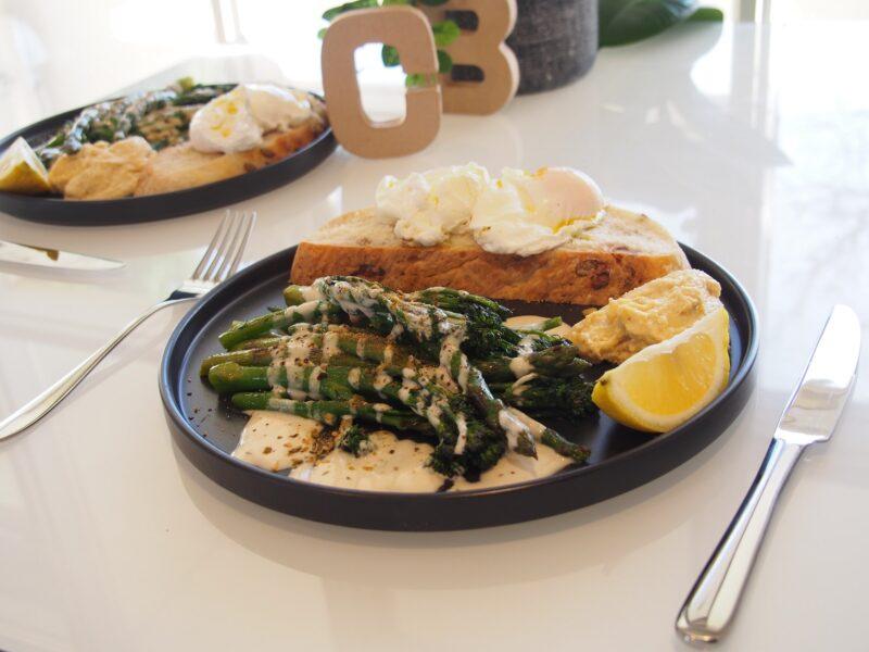 Cooking Blog - Green Veggies Trio Breakfast