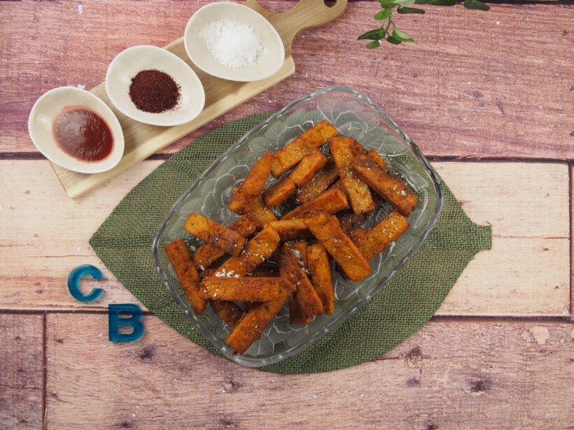 Cooking Blog - Polenta Chips with Sumac