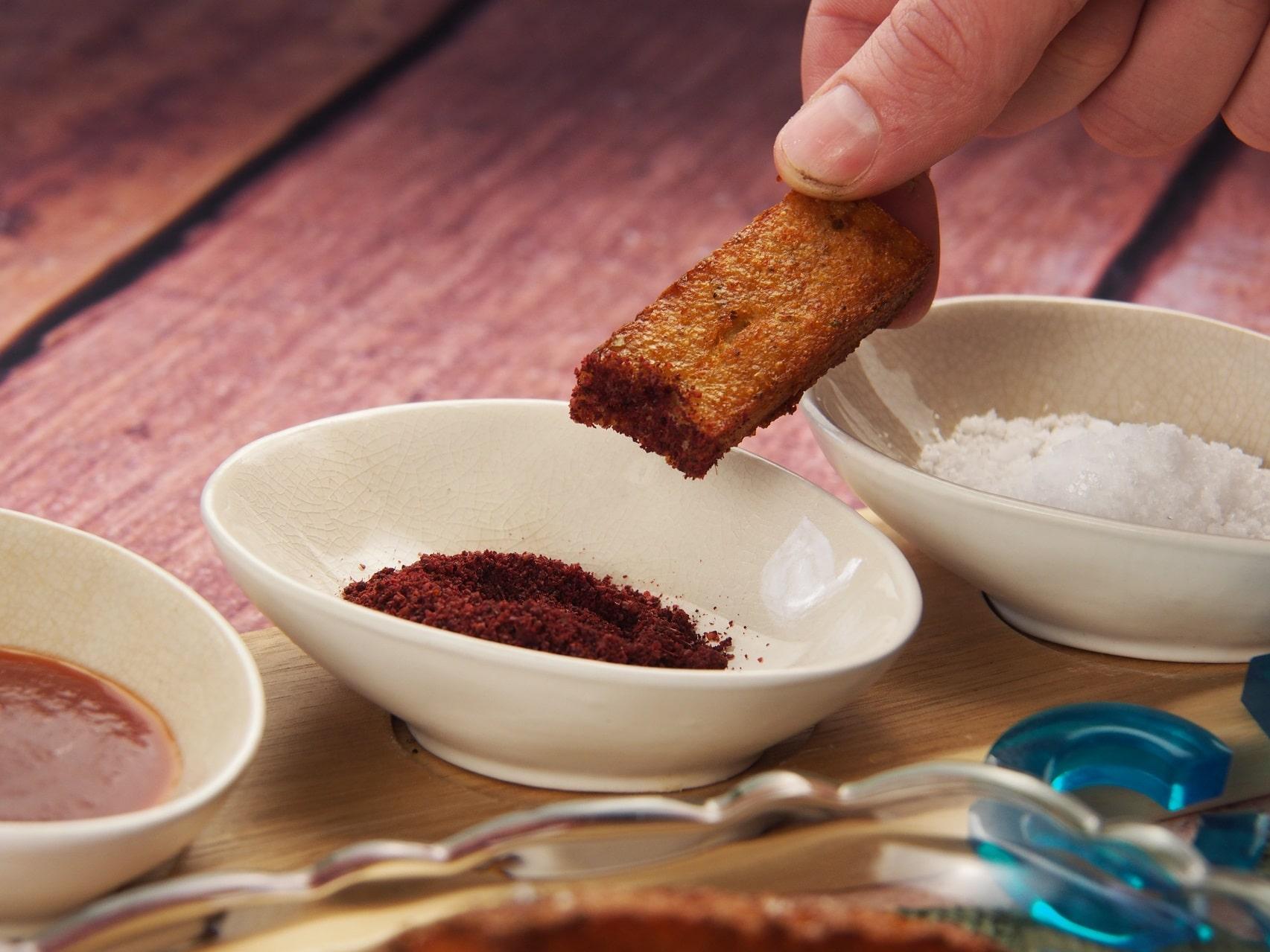 Cooking Blog - Polenta Chips with Sumac 9